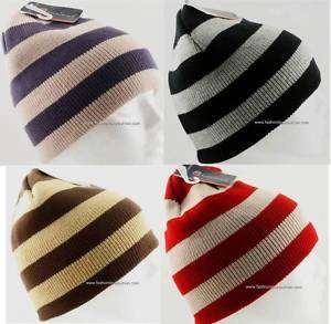 1Pack Mens Boys Winter Ski Beanie Knit Hat Cap 7Colors