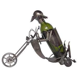 Motor Cycle Wine Bottle Holder