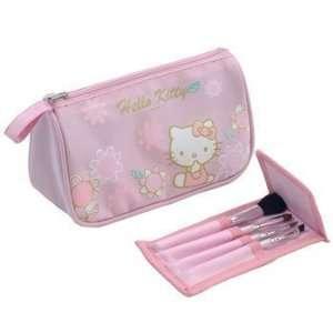 Sanrio HELLO KITTY Cosmetic Bag w/ BRUSH set Toys & Games