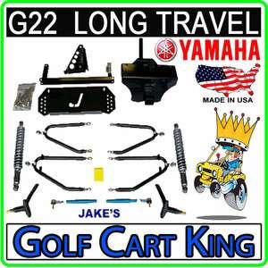 Yamaha G22 Golf Cart 6 8 Jakes Long Travel Lift Kit