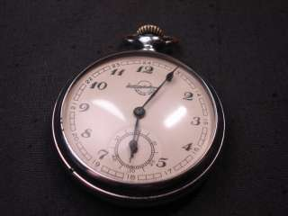 VINTAGE 1958 RARE RUSSIAN POCKET WATCH ZLATOUSTOVSKIE SOVIET CLOCK