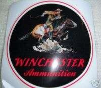 Winchester Ammunition Decal Sticker   Horse & Rider