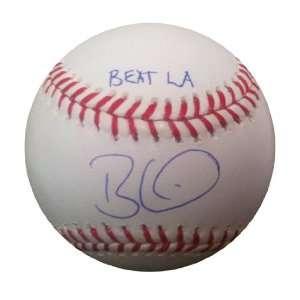 beard 2010 World Series Champion. Major League Baseball authenticated