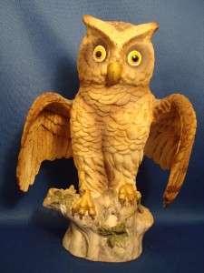 Andrea Sadek 7 Porcelain Owl Owlet BIrd of Prey #6938