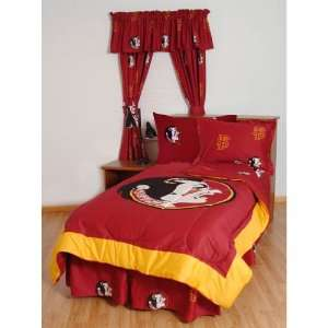 Florida State Seminoles Bed in a Bag   With Team Colored