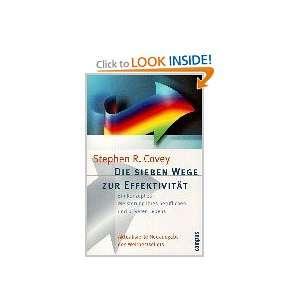 Wege zur Effektivität. (9783593364247) Stephen R. Covey Books