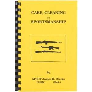 Books On Highpower Jim Owens Care Cleaning Sportsmanship