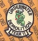 USN Navy UDT 11 Underwater Demolition Team 11 SEAL Special Warfare Cmd