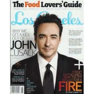 2007 John Cusack, Food Ediors of Los Angeles Magazine Books
