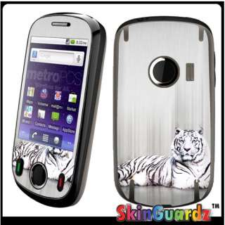 White Tiger Vinyl Case Decal Skin To Cover Your Huawei M835 Metro PCS