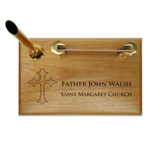 Decorative Cross Pen & Business Card Holder: Kitchen & Dining