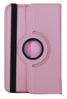 Kindle Fire Leather 360 Rotating Case Swivel Stand Cover   Baby