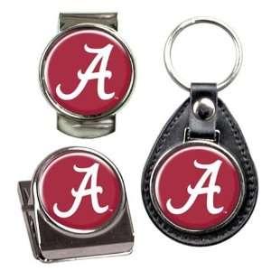 Alabama Crimson Tide Bama Key Chain Money Clip Magnet Gift