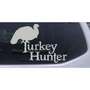 Turkey Hunter Hunting And Fishing Car Window Wall Laptop Decal Sticker