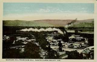 Morgan Hill from Nob Hill   Santa Clara Valley, CA. Card is postally