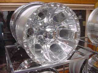16X8 165 ION FORD CHEVY DODGE 8 LUG WHEEL CHROME