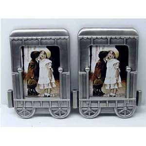 Train Picture Frame 2 pc Cabin Car Add On: Home & Kitchen