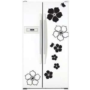 Flower Decor Mural Art Sticker Wall Paper WDC 513