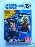 star wars happy families card game £ 4 49