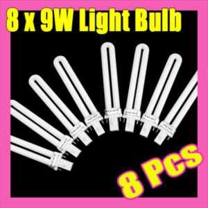 9W Nail Art UV Gel Lamp Light Bulb Tube Dryer S018 8