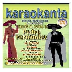 Exitos Al Estilo De Pedro Fernandez Karaokanta Music