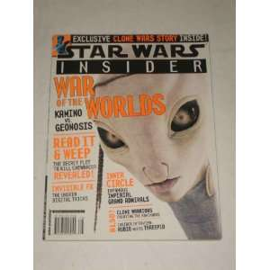 Star Wars Insider Magazine March April 2003 #66 War of the