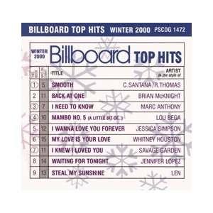 top chart music