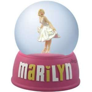 Marilyn Monroe   White Dress Marilyn Waterglobe