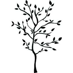 RMK1317GM Tree Branches Peel & Stick Wall Decals
