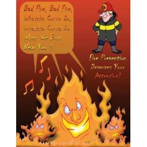 Fire Prevention Safety Poster (18 x 24 inch):  Industrial