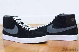 Nike SB Blazer High Black Fog Grey DS Sz 13 2010 new