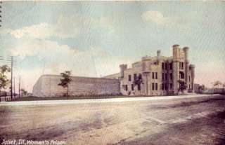 JOLIET ILLINOIS   WOMANS PRISON dirt road