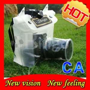 DSLR SLR Camera Waterproof Case Dry Bag Canon Nikon 20M