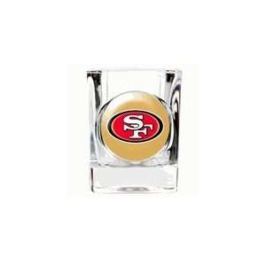 Personalized San Francisco 49ers NFL Shot Glass