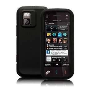 Modern Tech Black Armor Shell Case/Cover for Nokia N97