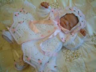 CROCHET PATTERN****LITTLE STARS, TWIN BABY MATINEE SETS