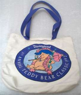 1st Annual Teddy Bear Classic Tote Bag is part of a huge family If