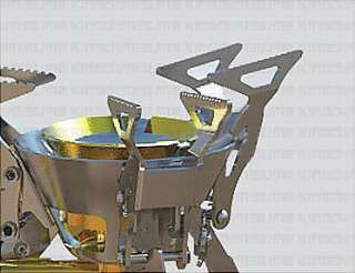 Multi fuel Camping Stove Cookware 11200BTU Mountain New