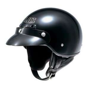 HJC CS 2M Open Face Motorcycle Helmet Black XXL