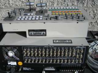 JVC KM 2500 Pro Special Effects Video Switcher / Mixer