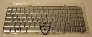 Genuine OEM DELL Keyboard Vostro 1000 1400 1500 XPS M1330 M1530 Silver