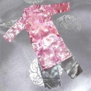 Ao Dai, Vietnamese Traditional Dress for Children   Pink