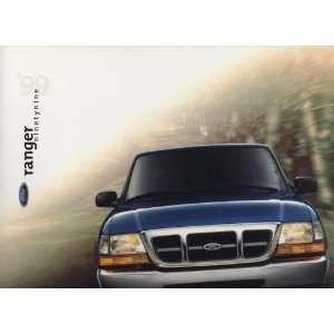 1999 Ford Ranger Truck Pickup Original Sales Brochure
