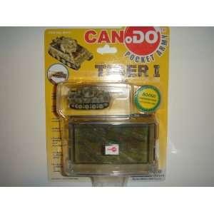 Dragon Models Can.Do Pocket Army 1:144 Tiger I Tank Early Production 2