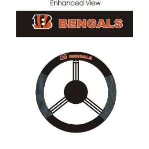 Cincinnati Bengals Car/Truck/Auto Steering Wheel Cover