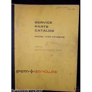 New Holland 1400 Combine OEM Parts Manual: New Holland: Books