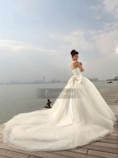 New Amazing Organza Puffy Wedding Dress Bridal Gown Landybridal