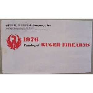 1976 Catalog of Ruger Firearms [ Sturm, Ruger & Company