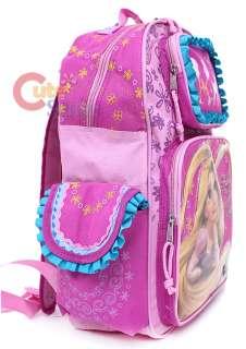 Princess Tangled Rapunzel School Backpack 16in L Bag