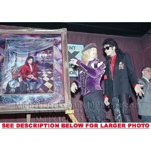MICHAEL JACKSON 1989 PORTRAIT UNVEIL (1) RARE 8x10 FINE